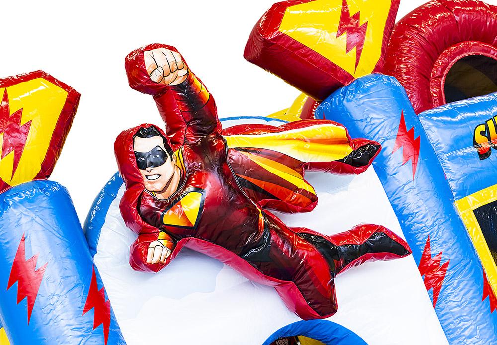 Springkasteel verhuur superman